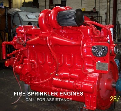 sprinkler engines