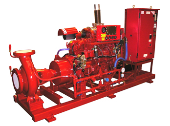 Fireset Sprinkler Engines